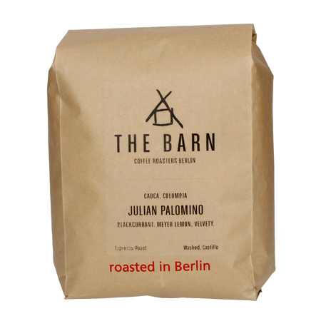 The Barn Colombia Cauca Julian Palomino Washed ESP 1kg, kawa ziarnista (outlet)