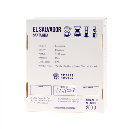 Coffee Republic - El Salvador Santa Rita