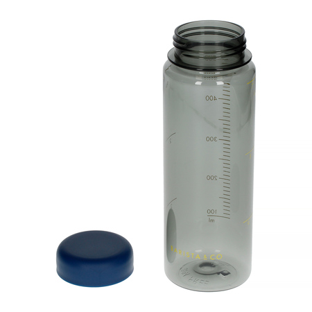 Barista & Co - Timer Measure Water Bottle Blue - Butelka