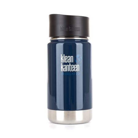 Klean Kanteen Wide Insulated Deep Sea 355ml - Niebieski