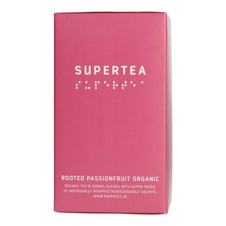 Teministeriet - Supertea Rooted Passionfruit Organic - Herbata 20 Torebek