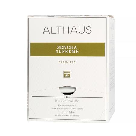 Althaus - Sencha Supreme Pyra Pack - Herbata 15 piramidek