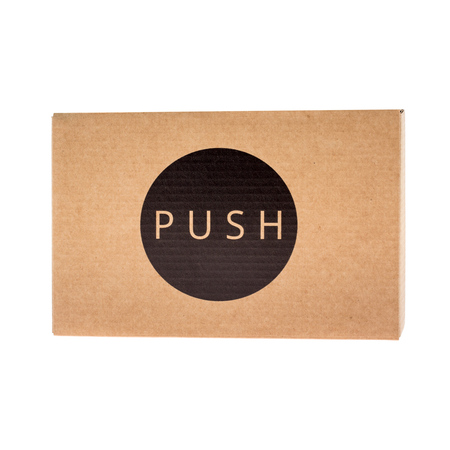 Clockwork Espresso - PUSH Tamper - Niebieski