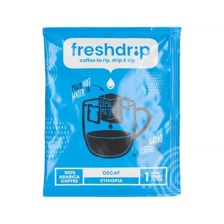 Freshdrip - Blue Ethiopia Decaf - 7 saszetek