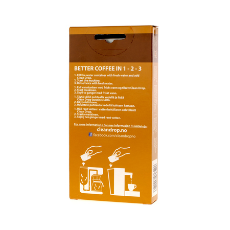 Moccamaster Clean Drop - Cleaning Aid Płyn do czyszczenia ekspresów  (outlet)