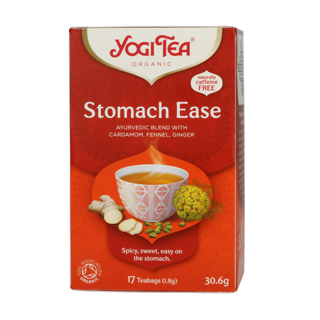 Yogi Tea - Stomach Ease - Herbata 17 Torebek