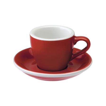 Loveramics Egg - Filiżanka i spodek Espresso 80 ml - Red