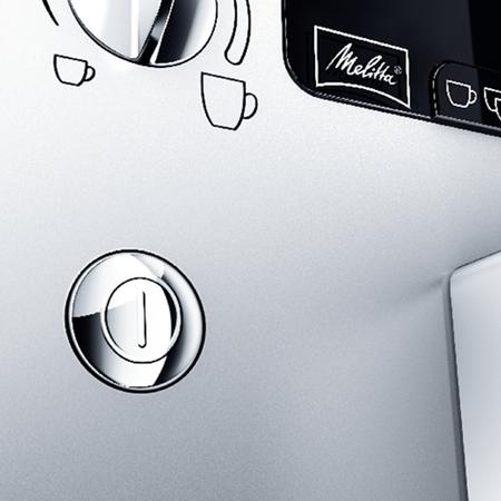 Melitta Caffeo Solo & Perfect Milk Srebrny - Ekspres ciśnieniowy