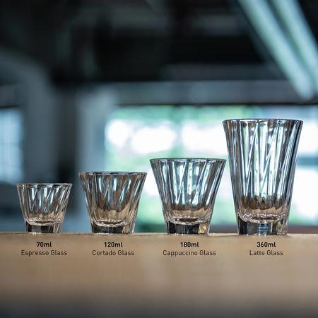 Loveramics - Twisted Cappuccino Glass - Szklanka do Cappuccino 180ml