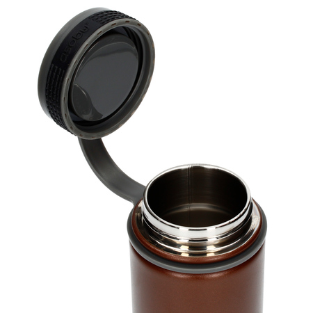 Asobu - Alpine Flask Brązowy - Butelka termiczna 530 ml
