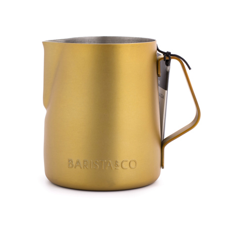 Barista & Co - Milk Jug Midnight Gold - Dzbanek do mleka 350 ml