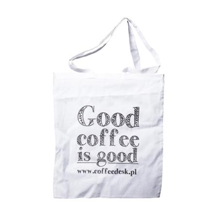 Torba eko - Good Coffee Is Good - Biała