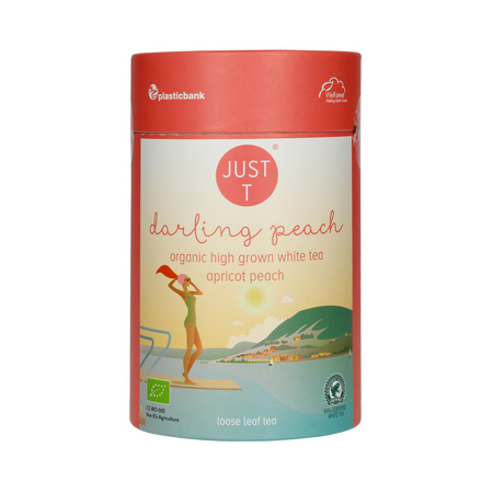 Just T - Darling Peach - Herbata sypana 80g