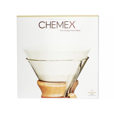 Chemex Bonded Filters Unfolded Circles filtry papierowe okrągłe 6, 8, 10 filiżanek (outlet)