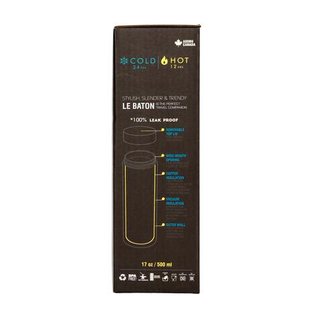 Asobu - Le Baton Niebieski / Żółty - Butelka termiczna 500ml