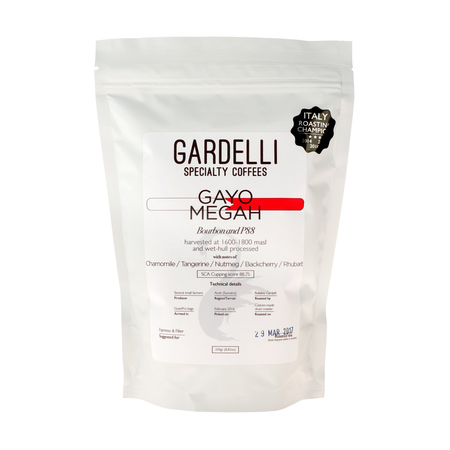 Gardelli Specialty Coffees - Sumatra Gayo Megah (outlet)