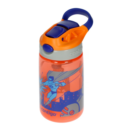 Contigo Gizmo Flip Nectarine Superhero - Butelka dla dzieci 420 ml