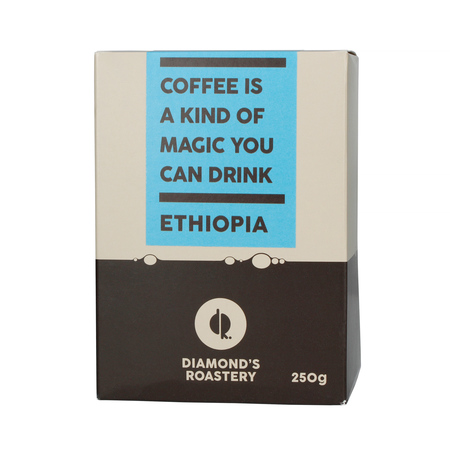 Diamonds Roastery Ethiopia Sidama Shantawene Washed FIL 250g, kawa ziarnista (outlet)