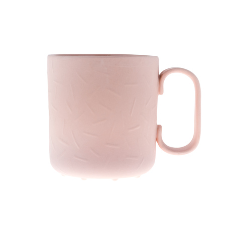 ENDE - Kubek 250ml - Sprinkle z różowej porcelany