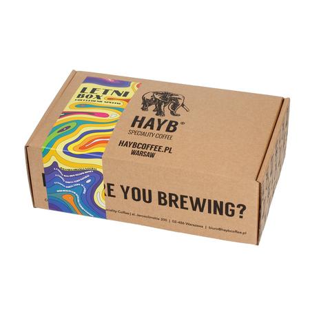 HAYB Letni Box 5x100g FIL 500g, kawa ziarnista (outlet)