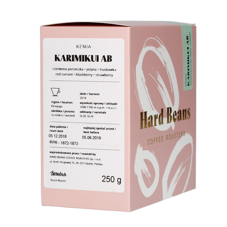 Hard Beans - Kenia Karimikui
