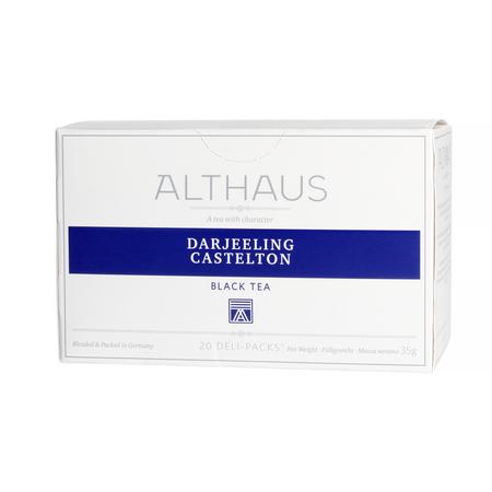 Althaus - Darjeeling Castleton Deli Pack - Herbata 20 saszetek
