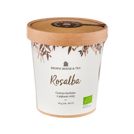 Brown House & Tea - Rosalba - Herbata sypana 60g
