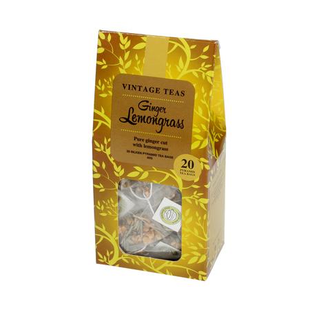 Vintage Teas Ginger Lemongrass - 20 torebek