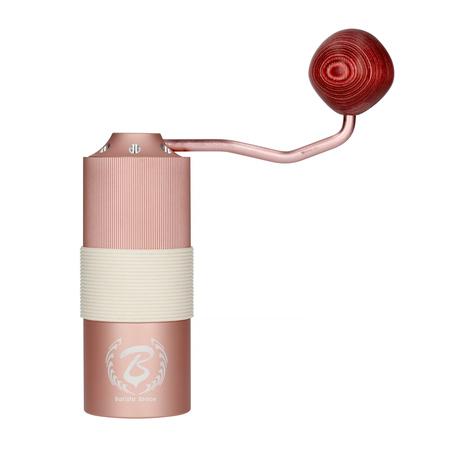 Barista Space - Młynek ręczny różowy