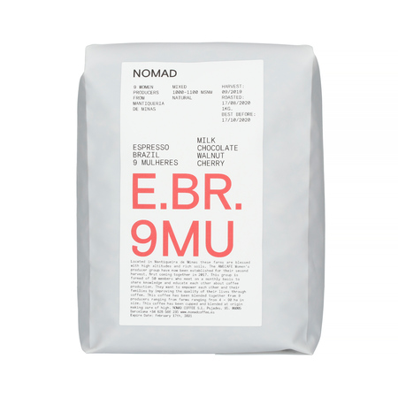 Nomad Coffee - Brazil 9 Mulheres Espresso 1kg