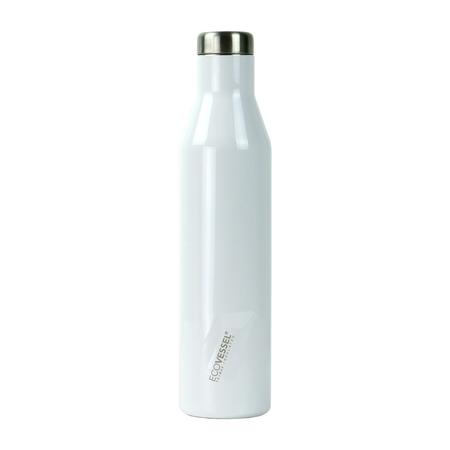 EcoVessel - Butelka termiczna Aspen - Biała 750 ml