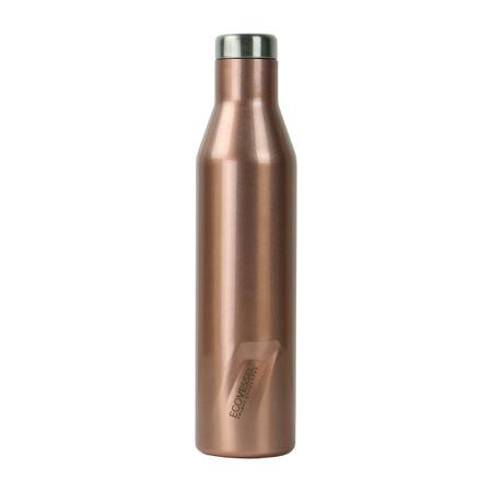 EcoVessel - Butelka termiczna Aspen - Różowe złoto 750 ml