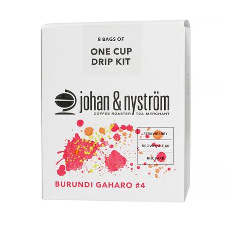 Johan & Nyström - Burundi Gaharo Drip Kit - 8 saszetek