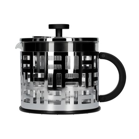 Bodum Eileen - Zaparzacz do herbaty z plastikowym filtrem 1,5l - Chrom