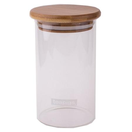 teapigs - szklany pojemnik na herbatę
