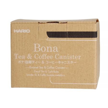 Hario Bona Canister - Drewno oliwne - Pojemnik 400ml