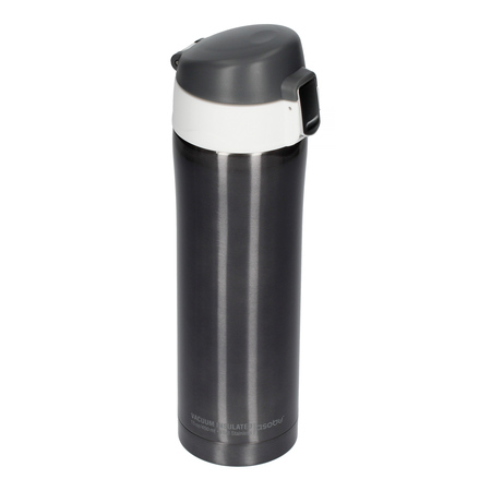 Asobu - Diva Cup Szary / Biały - Kubek termiczny 450 ml