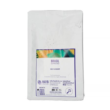 HAYB - Brazil Guaxupe Espresso 250g