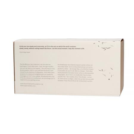 Paper & Tea - Mindfulness Collection Clarity + Presence - Zestaw dwóch herbat w puszce 80g + 60g