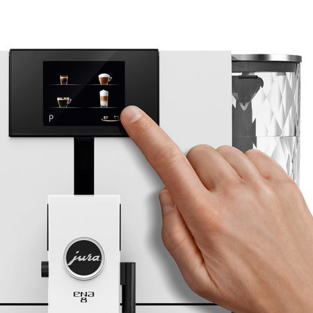 Jura ENA 8 Touch Full Nordic White