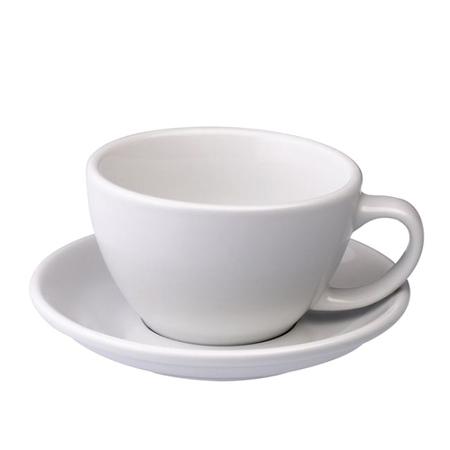 Loveramics Egg - Filiżanka i spodek Cafe Latte 300 ml - White