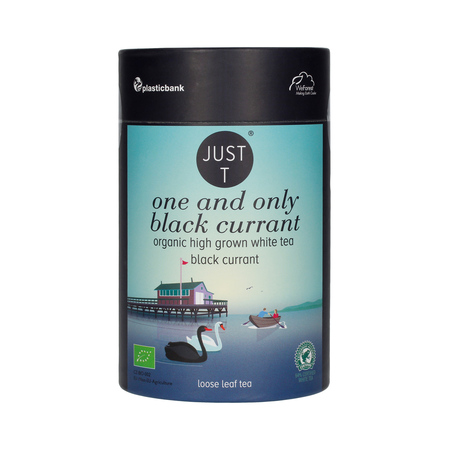 Just T - One and Only Black Currant - Herbata sypana 80g