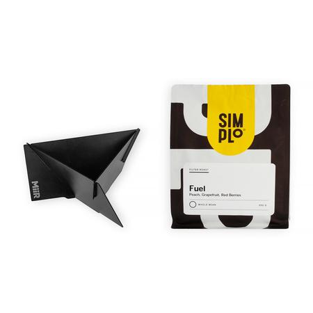 Zestaw MiiR Pourigami + Kawa SIMPLo x Coffeedesk FUEL