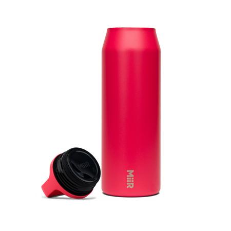 MiiR - Wide Mouth Bottle Różowa - Butelka termiczna 950 ml