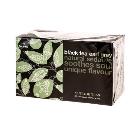 Vintage Teas Black Tea Earl Grey - 30 torebek (outlet)
