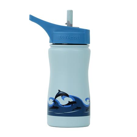 EcoVessel - Butelka termiczna dla dzieci Frost - Dolphins 400 ml