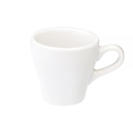 Loveramics Tulip - Filiżanka i spodek Espresso 80 ml - White