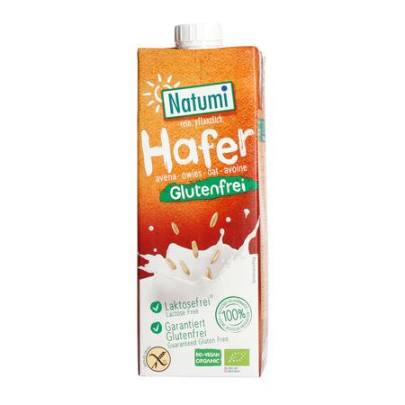 Natumi - Napój owsiany bez dodatku cukru bezglutenowy 1L