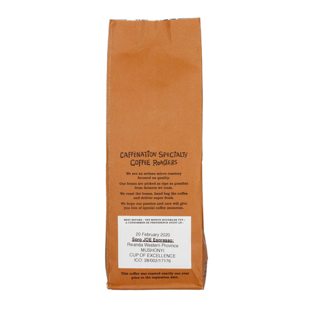 Caffenation - SPRO JOE Rwanda Western Province Mushonyi Espresso