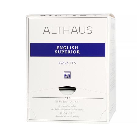Althaus - English Superior Pyra Pack - Herbata 15 piramidek